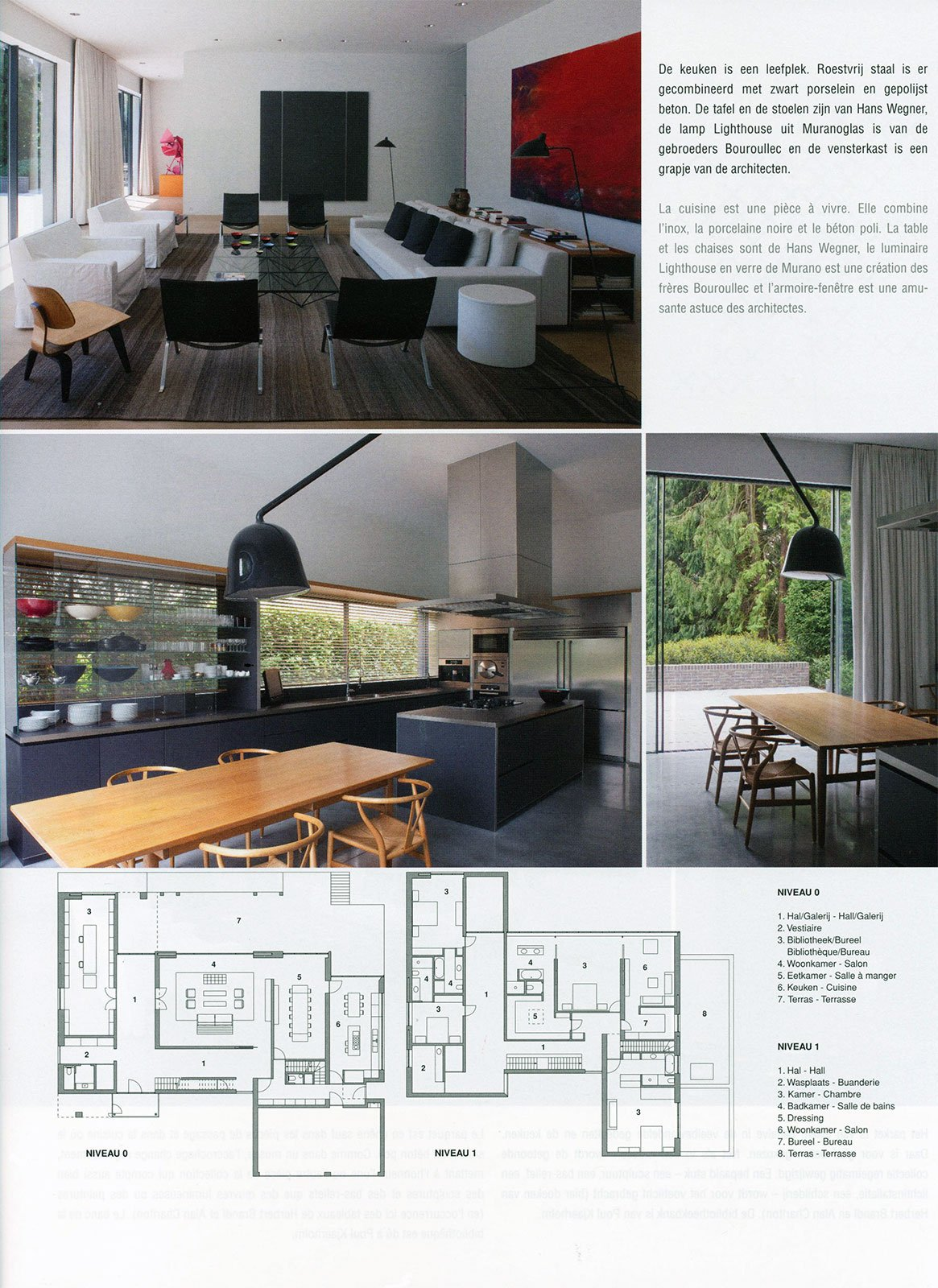 3 Design Stoelen.Ecrin Noir Press Wave Architecture