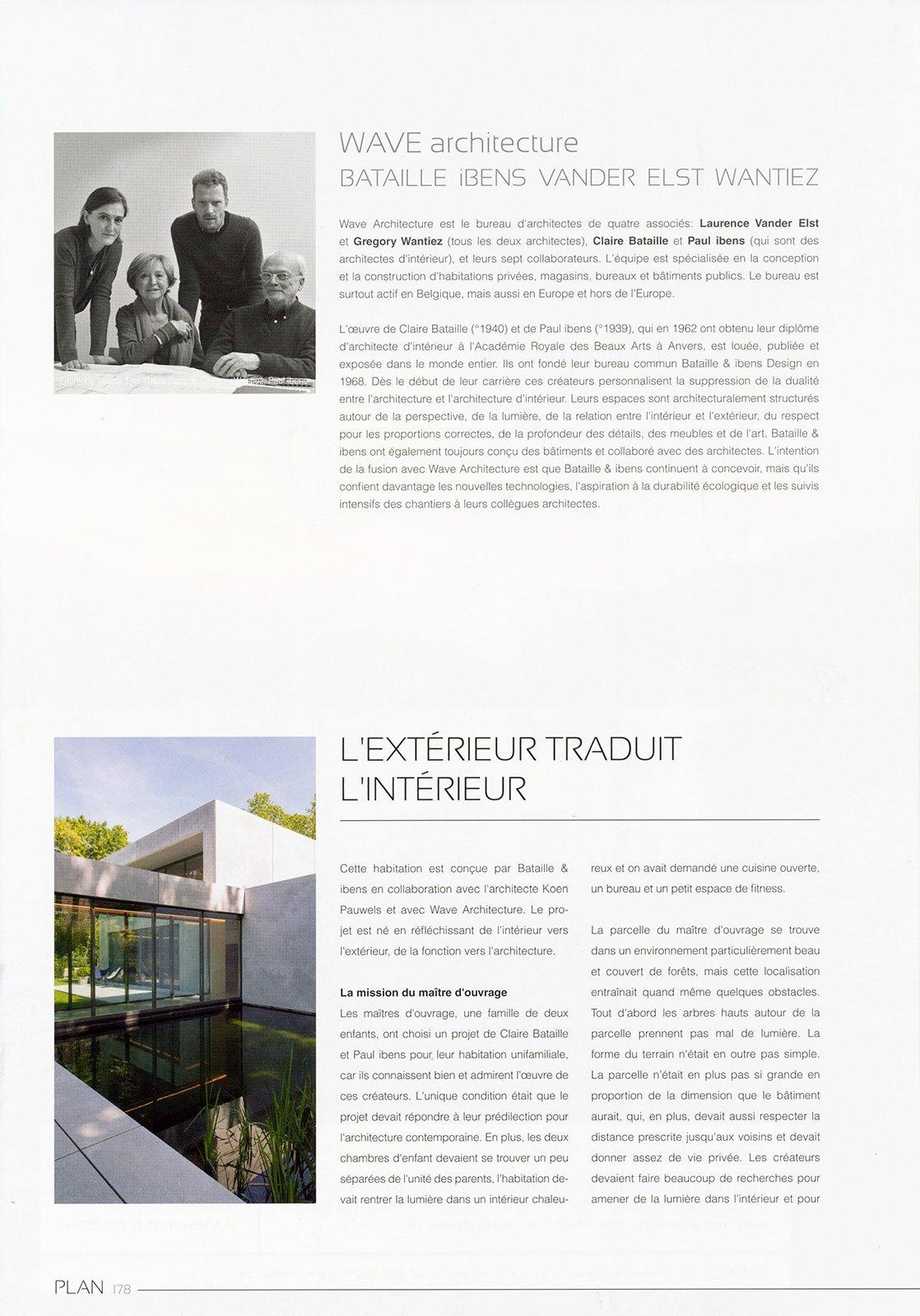 Architecte D Intérieur En Belgique plan ~ press ~ wave architecture